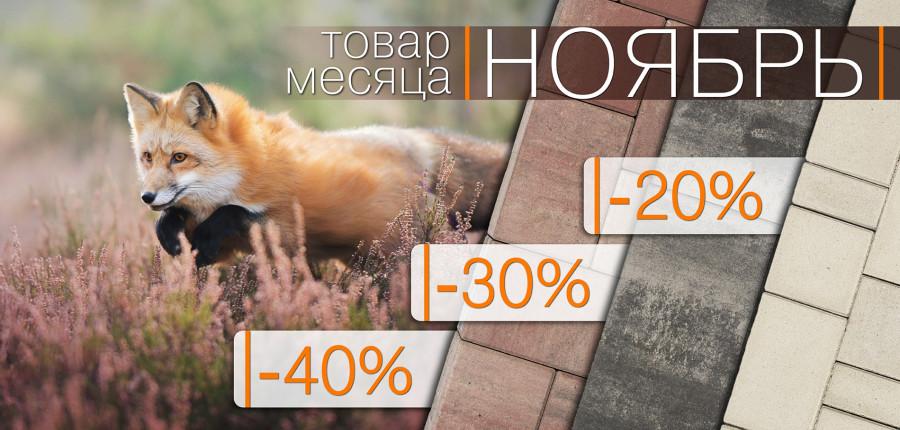 """Акция """"Товар месяца Ноябрь!"""" 2020"""