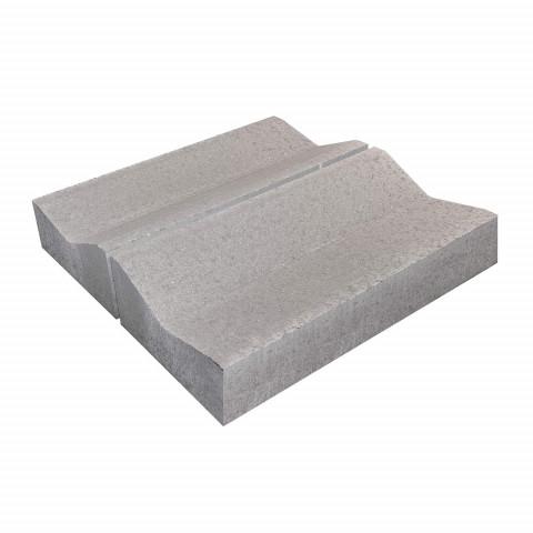 Водоотводный бетонный дорожный лоток Б1.18.50 серый