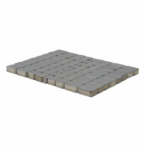 Плитка тротуарная BRAER Классико, Серый, h=60 мм