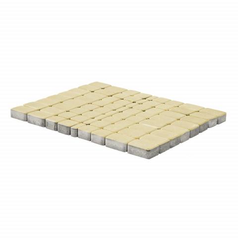 Плитка тротуарная BRAER Классико, Песочный, h=60 мм