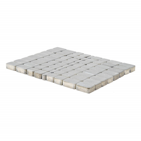 Плитка тротуарная BRAER Классико, Серебристый, h=60 мм