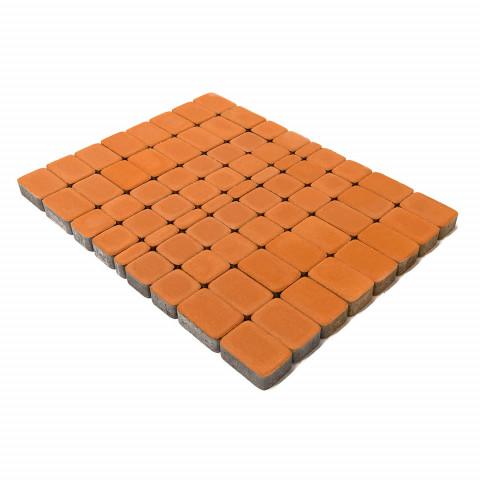 Плитка тротуарная BRAER Классико, Янтарный, h=60 мм