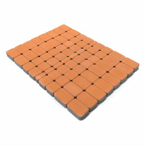 Плитка тротуарная BRAER Классико, Коралловый, h=60 мм