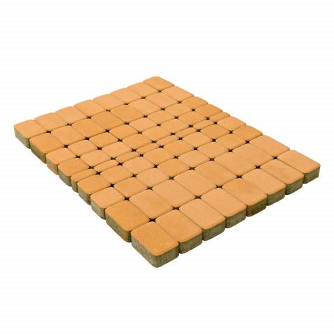 Плитка тротуарная BRAER Классико, Медовый, h=60 мм