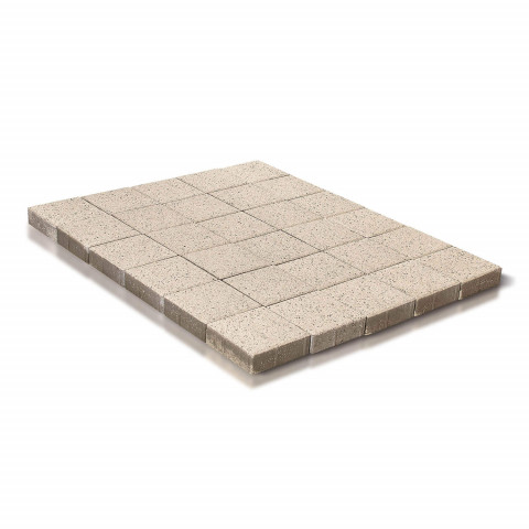 Плитка тротуарная BRAER Лувр, Мрамор, h=60 мм