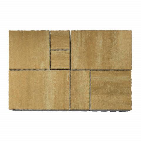 Плитка тротуарная BRAER «Патио» Саванна, h=60 мм